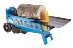 Holzspalter liegend Hydraulikspalter Scheppach